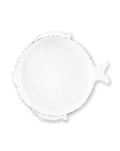 Melamine Lastra Medium Fish Serving Bowl