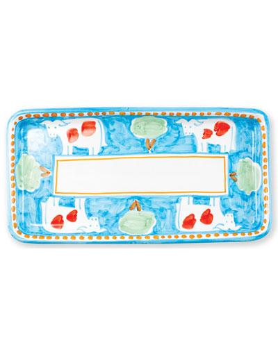 Mucca Rectangular Platter