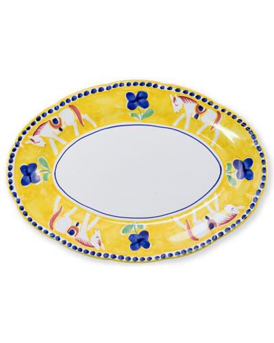 Cavallo Oval Platter