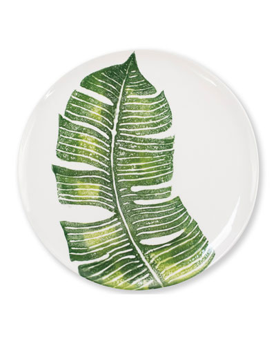 Into The Jungle Banana Leaf Dinner Plate