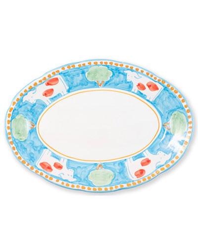Mucca Oval Platter