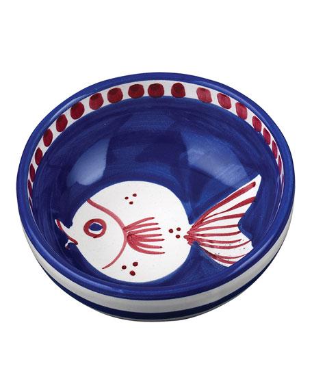 Vietri Pesce Olive Oil Bowl