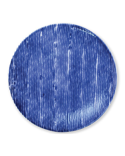 Santorini Stripe Dinner Plate