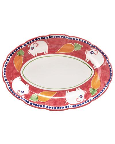 Porco Oval Platter
