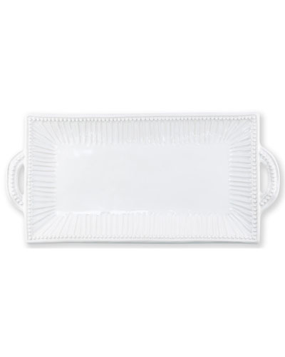 Incanto Stone Stripe Rectangular Handled Platter