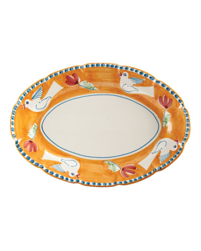 Uccello Oval Platter