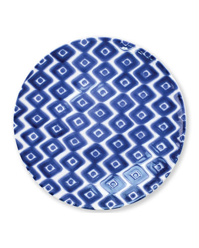 Santorini Diamond Dinner Plate
