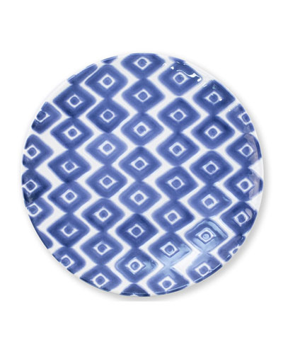 Santorini Diamond Salad Plate