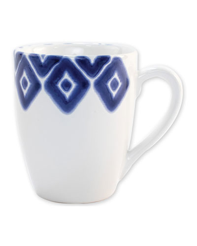 Santorini Diamond Mug