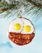 Eggs and Bacon Ornament