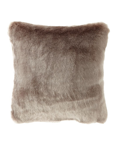 Jasmine Faux-Fur Pillow