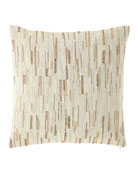 Austin Horn Collection Beaded Pillow