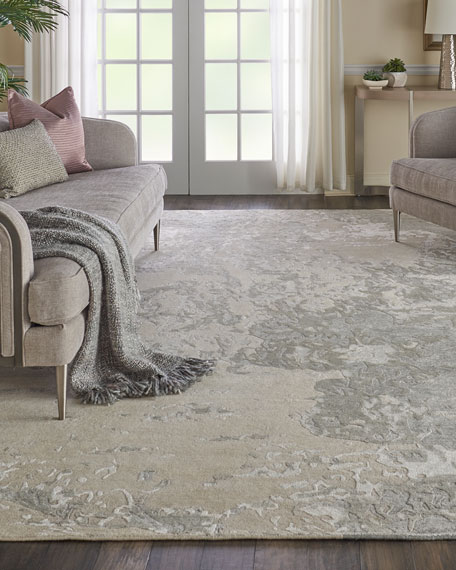 NourCouture Hampton Hand-Knotted Runner, 2' x 8'