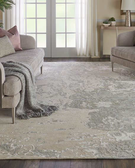 NourCouture Hampton Hand-Knotted Rug, 5' x 8'
