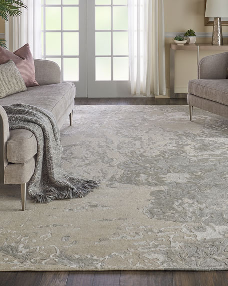 NourCouture Hampton Hand-Knotted Rug, 8' x 10'