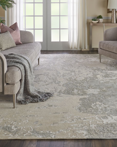 NourCouture Hampton Hand-Knotted Rug, 9' x 12'