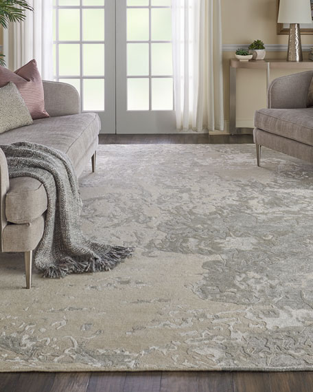 NourCouture Hampton Hand-Knotted Rug, 10' x 14'