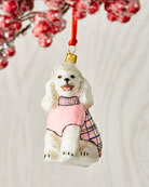 Joy To The World Collectibles Poodle Dog Christmas