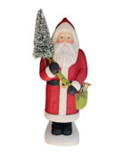 Bethany Lowe Large Paper Mache Santa Claus