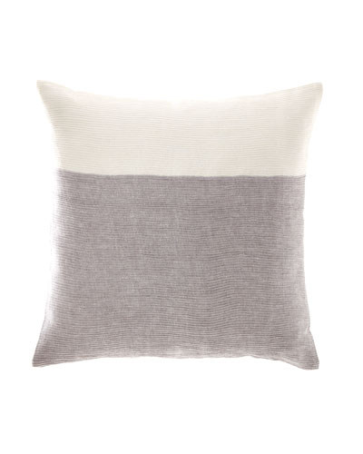 Pleated Linen Pillow