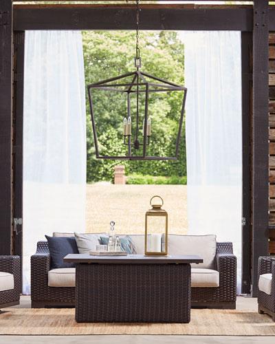 Brannon Outdoor Deep Sofa