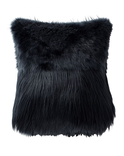 Grayson Faux-Fur Decorative Pillow