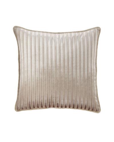 Classic Damask Velvet Stripe European Sham