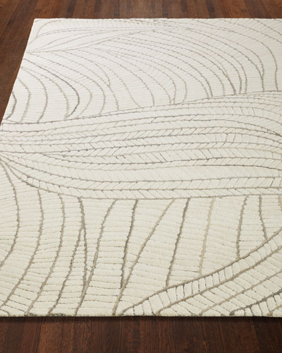 Ridges Hand-Tufted Rug, 6' x 9'
