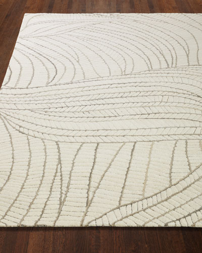 Ridges Hand-Tufted Rug, 9' x 12'