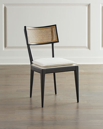 Wood Frame Dining Chair Neiman Marcus