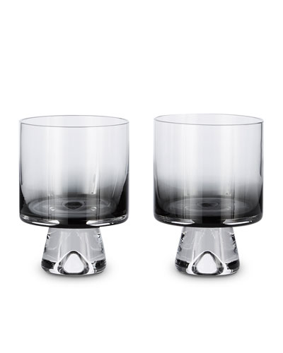 Tank Low Ball Glasses, Set of 2