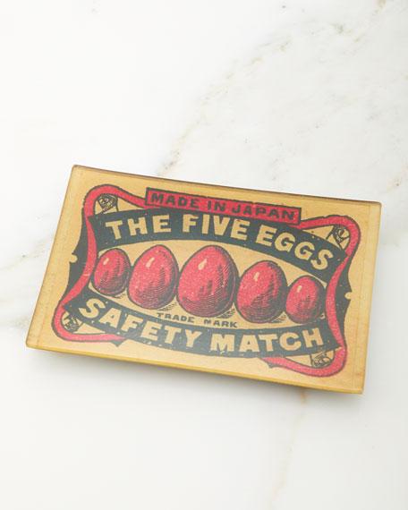 John Derian Five Eggs Tray