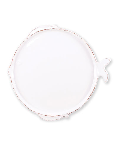Melamine Lastra Fish Dinner Plate