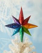 Christopher Radko Rainbow Stellar Finial