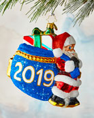 Christopher Radko Santa's 2019 Delivery Ornament