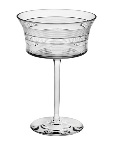 Vinyl Martini Glass
