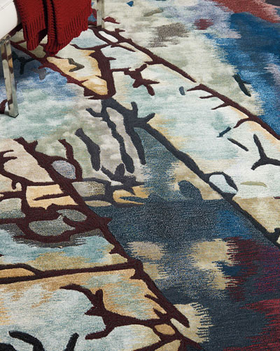 Borgart  Hand-Tufted One Of a Kind Rug, 7'9