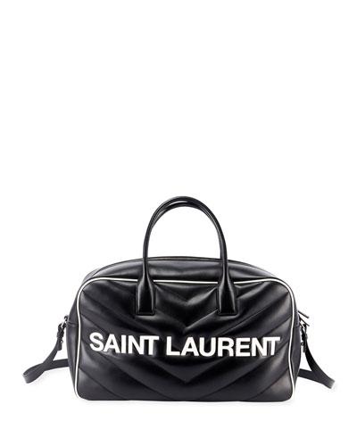 Extra Large Logo Bowler Duffel Bag