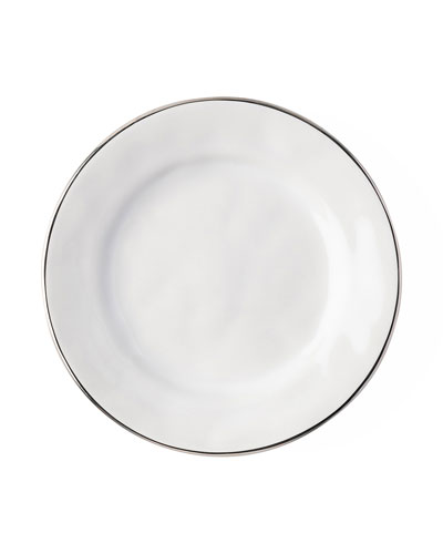 Puro Side/Cocktail Plate with Platinum Rim