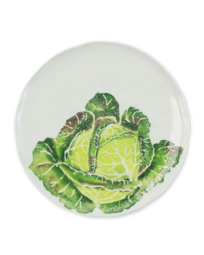 Spring Vegetables Cabbage Salad Plate