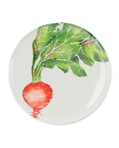 Spring Vegetables Radish Salad Plate