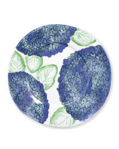 Melamine Hydrangea Dinner Plate