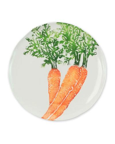 Spring Vegetables Carrot Salad Plate