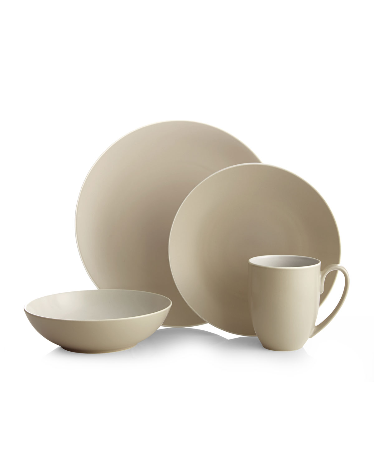 Nambe Pop Collection By Robin Levien 4-piece Place Setting In Ocean