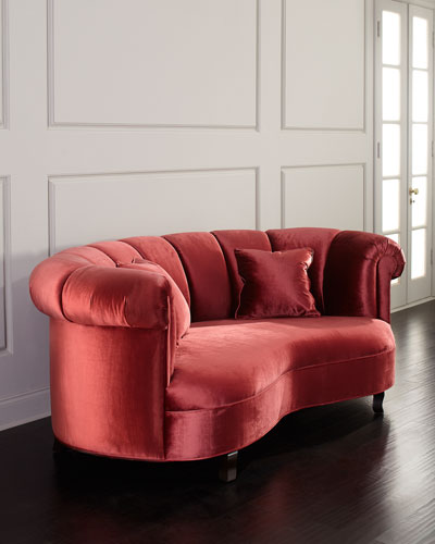 Aubrey Channel Tufted Sofa, 77