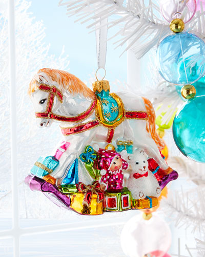 Rocking Horse Christmas Ornament