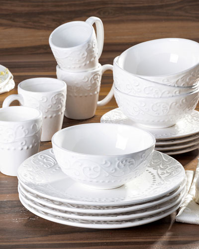 Bianca 16-Piece Dinnerware Set