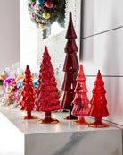 Cody Foster & Co Red Hue Trees, Set