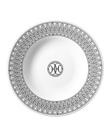 Hermès H Deco Soup Plate
