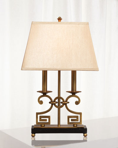 Whitney Brass Desk Lamp